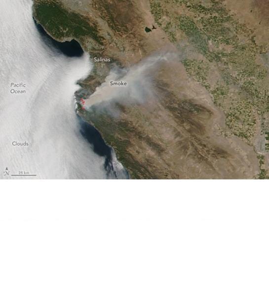 San Fran Fire sattelite